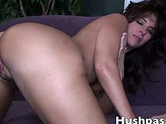 Druuna is a gorgeous brunette MILF and she never misses opportunities to get hammered by a huge black dong. The mighty Blackzilla knows how to make her cum.