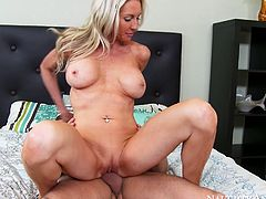 This cougar just love to fuck young studs, and reverse cowgirl is one of her favorite sex positions. Check out this awesome sex video and get ready to cum.