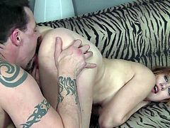 Get a load of this hardcore scene where the slutty Sasha Casey sucks on this guy's hard cock before being fucked silly by this guy.