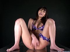 Press play to watch this Japanese doll, with natural breasts wearing a bikini, while she touches herself and gets extremely horny. You won't believe this!