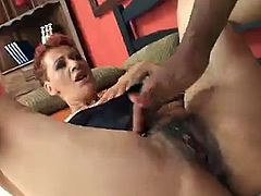 Tall Redhead Milf give her Ass to BBc