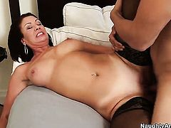 Giovanni Francesco gets pleasure from fucking Vanessa Videl with phat butt and smooth cunt