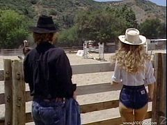 Hot sex with the sexy blonde Sunny Mckay is vintage video