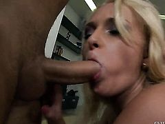 Attractive wench Ivana Sugar is a blowjob addict and Steve Holmes knows it before backdoor sex