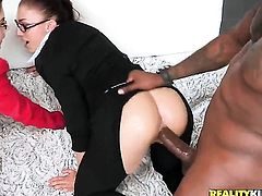 Prince Yahshua loves always wet warm love hole of Tender temptress Valentina Nappi with bubbly butt