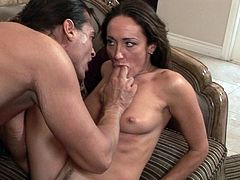 She is way to nasty as fucking with this guy causes her amazing pleasures and rough stimulation up her fanny