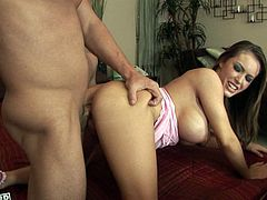 Hardcore doggystyle fuck for appetizing Jenna Presley