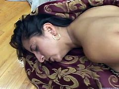 That horny white freak likes hot Mexican MILFs. Now he buttonfucks the big assed one in sideways and doggy positions. Have a look at this passionate fuck in Fame Digital porn clip!