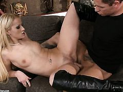 Blonde cant wait to be fucked by her horny sex partner