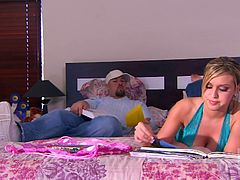 Make sure you have a look at this hardcore scene where the busty blonde Donna Doll is fucked silly by her lover as you hear her moan at the top of her lungs.