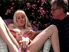 Damn, just look at these two sighing babes by the poolside. Then spread each other's legs and start licking each other's sweet cunts.