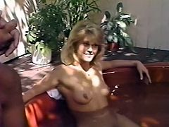 Sexy and voracious light haired babe spreads her legs ans gets a cunnilingus from the blond haired curvy chick. Have a look at these sluts in The Classic porn sex clip.