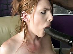 Lilith Lust is too hot to stop sucking Wesley Pipess rock hard love wand