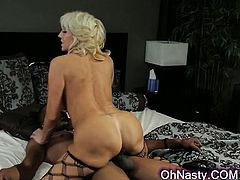 sexy blonde getting drilled