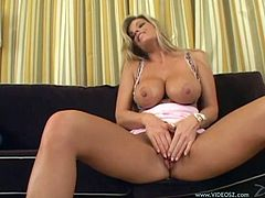Get a load of Kristal Summers' amazing ass and her big round tits in this hardcore scene where this sexy blonde is fucked silly.