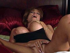 Rough fuck for this huge boobs mom along horny step son in need to crack her fanny and butt hole