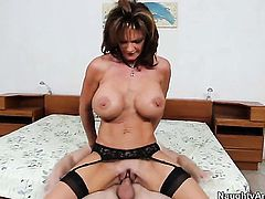 Danny Wylde cant resist playful Deauxmas acttraction and bangs her bum hole like crazy