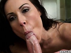 Kendra Lust has some dirty sex fantasies to be fulfilled in tugjob action