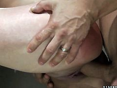 Mature Krisztin just feels intense sexual desire and fucks like mad