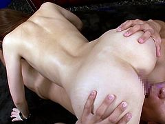 Please admit that Japanese sluts who like having two cocks in the same time are a great turn on. At least this particular babe does an exceptional job. This video is full of wonderful hot scenes containing feet fetishism, crazy blowjob or the awesome 69 position. Click to watch the kinky details