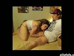 AllofGFs brings you a hell of a free porn video where you can see how this tattooed emo brunette gets banged very hard and deep into heaven while assuming very sexy poses.