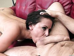 Manuel Ferrara gets his always hard fuck stick sucked by before bum hole fucking