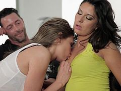 Marvelous Nikki Daniels And Victoria Lawson Have A Wild Threesome