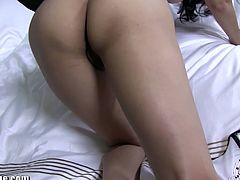 Checkout this beauty babe with big tits and sexy round ass, Sunny Leone in this hardcore video.See how she teases you by stripping her clothes off and showing her sexy body and trimmed pussy on camera.Enjoy the hot show!