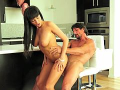 Passionate sex with mesmerizing babe Anissa Kate
