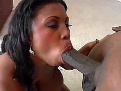 When the talk comes about size the only thing bigger than exington Steeles dick is Maserati XXX which she is skillfully using to please his  black cock and wishes at the same time.