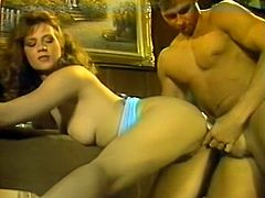 Light haired rapacious lassie with curvy shapes enjoys getting her throbbing asshole attacked from behind by staff penis of that dude. Have a look at that steamy anal sex in The Classic Porn sex clip!