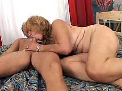 There is nothing this sexy amateur grandma loves more than getting a big cock in her mouth and having her hairy pussy hardcore fucked.