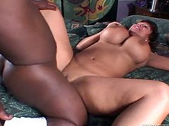 Attractive dark haired babe with awesome body gets her dripping pussy fucked hard doggystyle by the small guy. Have a look at this babe in Fame Digital sex clip.