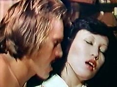 Ever hungry guy pounded hot pussy of that chubby Asian hooker with big tits in missionary style. Have a look at that steamy sex in The Classic Porn sex clip!