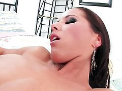 Angel Dark eat dudes dick like crazy