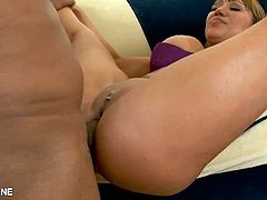 Eat Sleep Porn brings you a hell of a free porn video where you can see how the busty brunette Latina milf Ava Devine gets ass fucked by a big black cock into heaven.