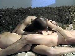 Curly and fair haired tramp with black necklace pleased thirsting kitty of her sexy kooky with tongue and fingers.Look at that dirty lesbo fuck in The Classic Porn sex clip!