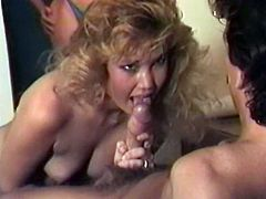 Light haired filthy wifey gets doggy fucked after hard BJ in the office