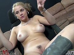 Light haired filthy woman with big sexy boobies pleases her kinky freak with hot and awesome deep throat. But before she smokes a cigarette nervously. Look at this zealous bitch in My XXX Pass porn video!