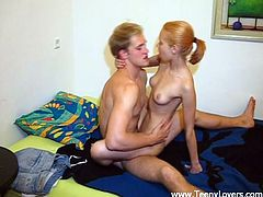 Pretty Blonde With Nice Tits Enjoying A Mind-Blowing Missionary Style Fuck
