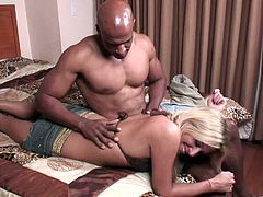 A Super Sexy Blonde With Small Tits Enjoying A Hardcore Interracial Fuck