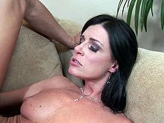 The screaming hot Chennin Blanc and India Summer take their clothes off and start stroking two fat dicks. These two whores enjoy getting their nasty urges fulfilled.
