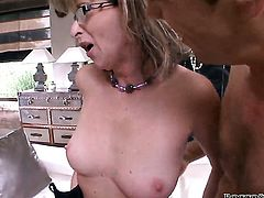 Rocco Siffredi has unforgettable anal sex with Melanie Memphis before she gives deep blowjob