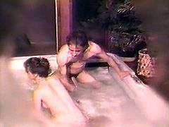 Dark haired voracious wench sucked massive sausage of that guy with passion. Then got her pussy licked and fucked from behind. Look at that steamy sex in The Classic Porn sex clip!
