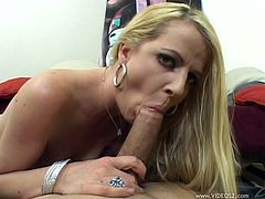 Sizzling hot MILF with juicy phat ass sucks large dick in POV before getting her anus plowed mish and doggystyle. Then she does anal riding thick cock on top until dude fills it with jizz.