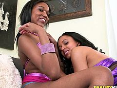 You are going to watch extremely hot lesbian sex video from Reality Kings porn site. These two ebony lesbians know for sure how to please each other properly.
