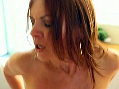 Pure mature brings you a hell of a free porn video where you can see how the busty redhead milf Janet Mason gets banged deep and hard into a massively intense orgasm.