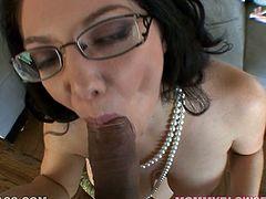 Hefty figured torrid bitch with big boobs posed on knees and seized that thick chocolate sausage greedily. Deep throat is her primary task. Take a look at this hungry fat chick in My XXX Pass porn clip!
