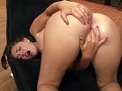 Watch Ava Dalush giving you one hell of a solo scene to bust a nut to as you watch her finger her wet pussy while moaning out loud.