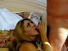 Make sure you have a look at this hardcore scene where the slutty Roxanne Hall is fucked by this guy's as you hear this babe moan.
